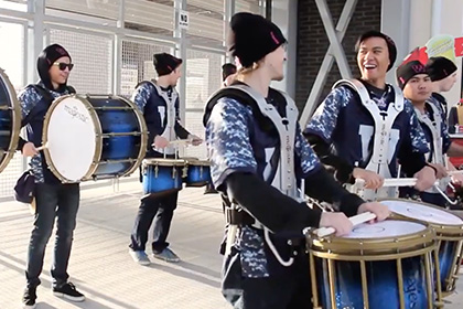 Winnipeg Blue Bomber Drum Line